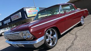 Test Drive 1962 Impala $23,900 Maple Motors
