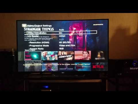 Netflix in 4K HDR Dolby Atmos w standard Netflix subscription