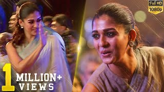 Nayanthara stunning in Saree - Lady Superstar brightens the full auditorium!