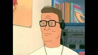 Hank Hill listens to Skull Trumpet