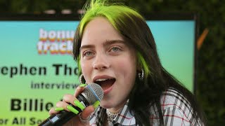 Billie Eilish Reacts To Fan Stealing Her Diamond Ring During A Show