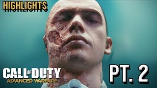 Highlights... Call Of Duty Advanced Warfare - Part 2 | Campaign Funny Moments