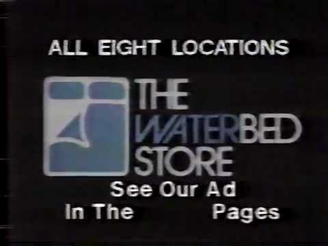 Commercials 1986 Aired During Three Stooges 3 St Louis Ernie Hays Pizza Hut RARE Waterbed Store