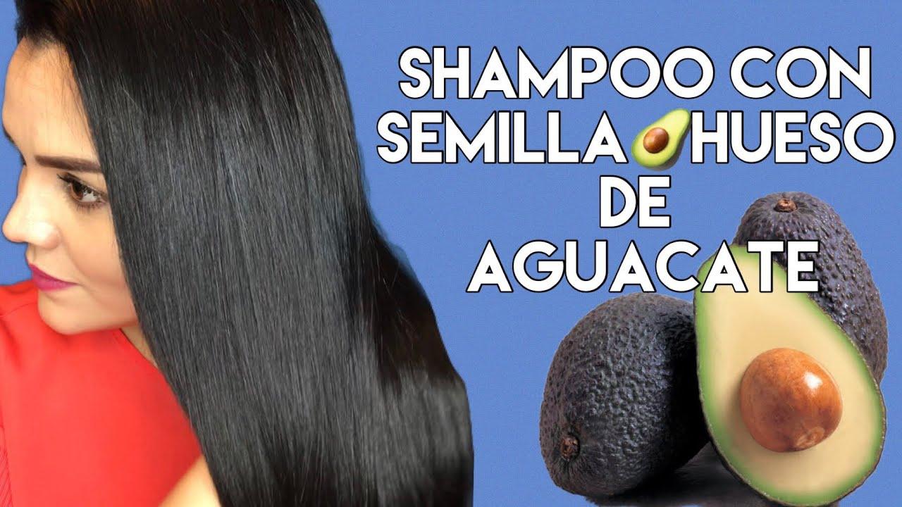 como usar el hueso de aguacate en el cabello