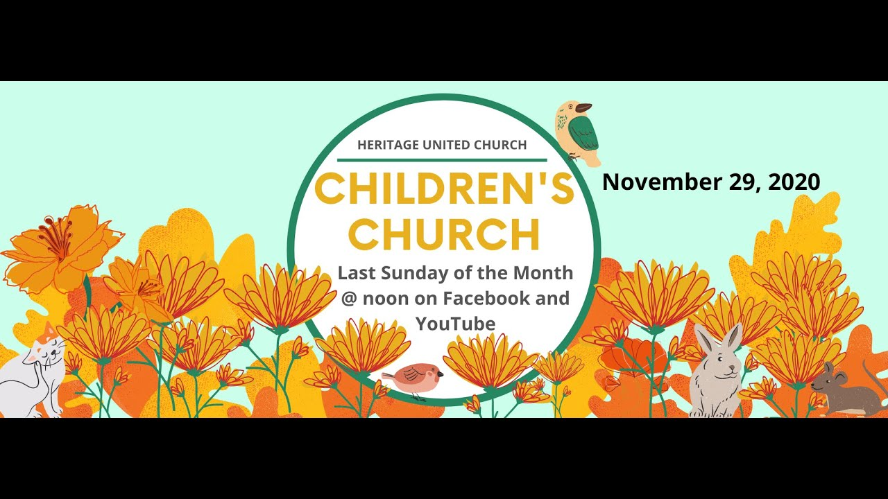 Children's Church - Nov. 29