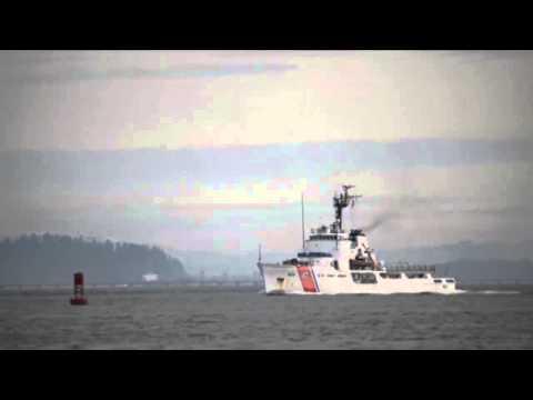 Coast Guard Cutter Steadfast (WMEC-623) Departs Astoria, Oregon for Patrol!