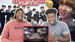 Reacting To One Of The Funniest Kpop Groups!!
