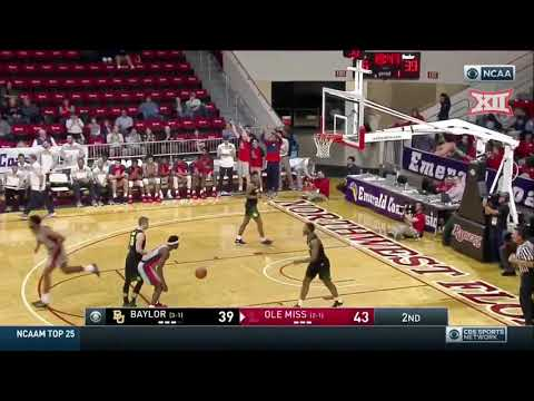 Baylor vs Mississippi Men's Basketball Highlights