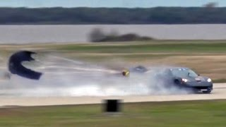 3000hp Corvette Goes AIRBORNE!