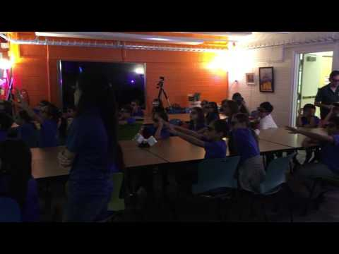 Hokulani Elementary School visiting LAVA