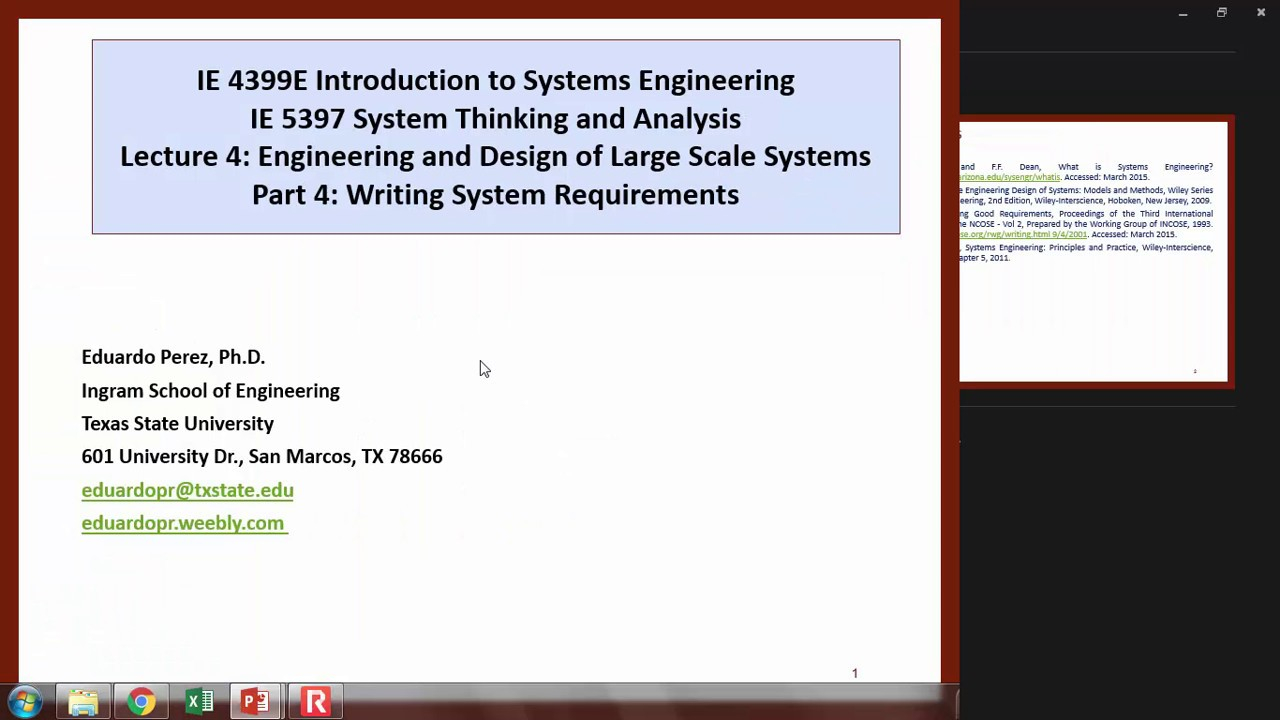 L4p4 Writing Systems Requirements Youtube