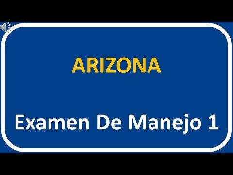 Examen De Manejo De Arizona 1