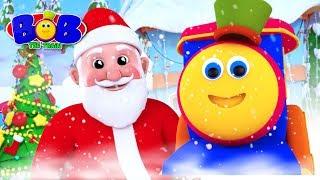Jingle Bells | Bob The Train Cartoons | X'mas Songs for Babies