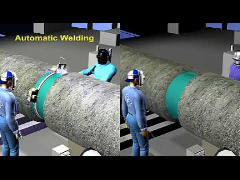 Under sea pipe laying procedure
