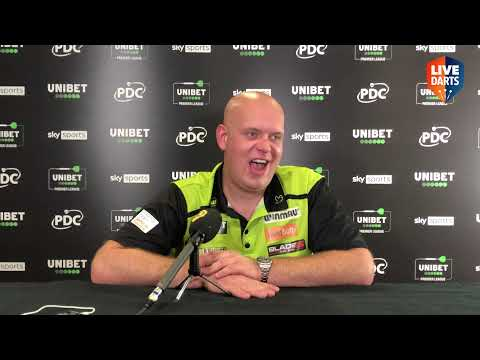"""Van Gerwen: """"I don't need to win this title for people to know I'm back, I've never been away"""""""