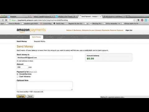 How to Send Money with Amazon Payments