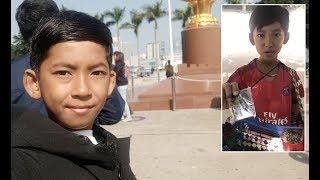 Hawker Boy Go To School In China