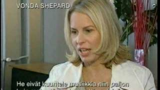 Vonda Shepard, Jope, Janina interview by Tomi Lindblom (2004)