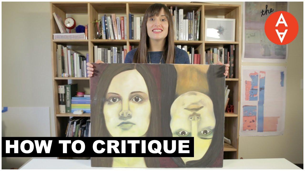 Výsledek obrázku pro How to Critique | The Art Assignment