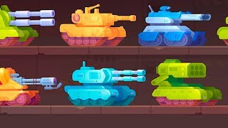 Tank Stars! Битва танчиков! Маленькие танчики! ТАНК СТАРС