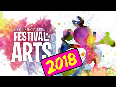 Walt Disney World Epcot International Festival of the Arts 2018!