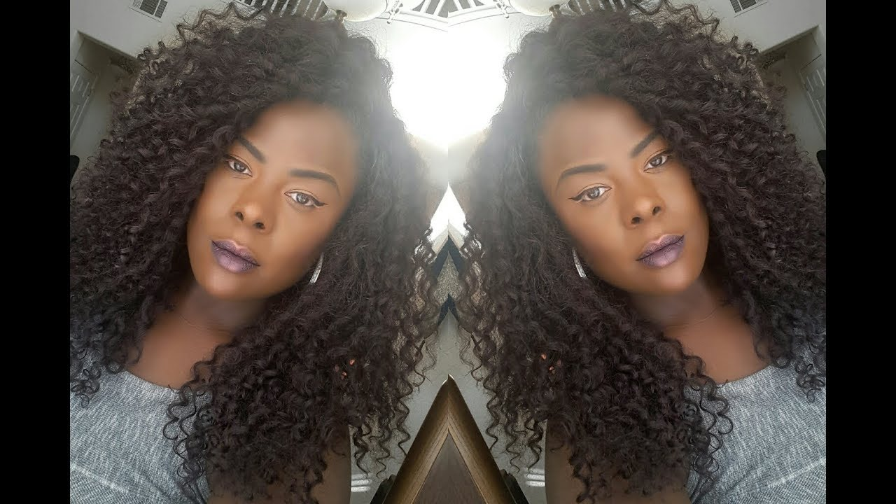 Curly Girl Collab Outre Dominique Color 950 Youtube