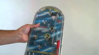Vintage Bagatelle Pinball Race To The Planets by Hasbro