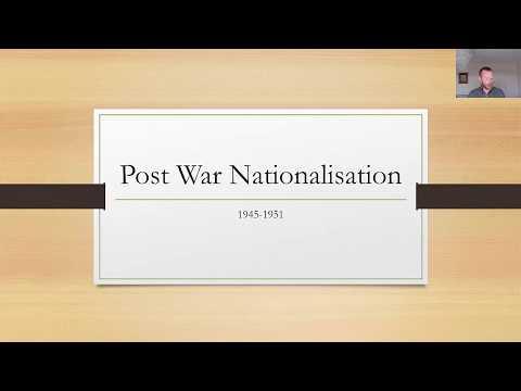 Post War Nationalisation In Britain