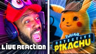 THEY CAN'T BE SERIOUS WITH THIS MOVIE!?! - POKEMON DETECTIVE PIKACHU REACTION