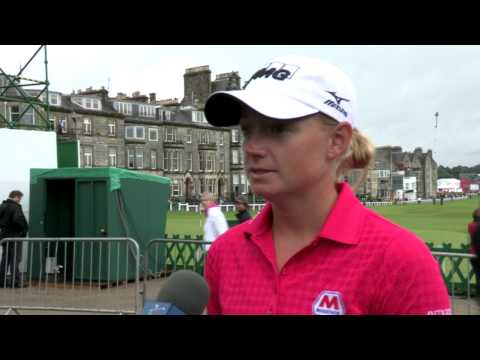 Stacy Lewis' First Round Interview at the RICOH Women's British Open