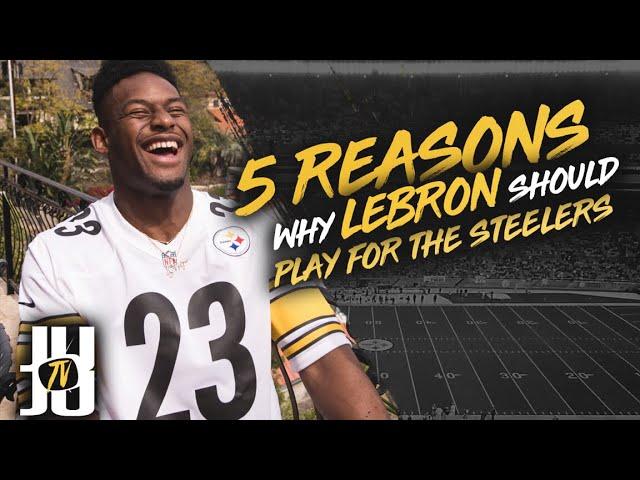 7e4f09d9f47f JuJu Smith-Schuster will be at Cavs game to recruit LeBron to Steelers