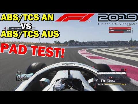 TCS & ABS Vs FAHRHILFEN AUS   F1 2019 CONTROLLER GUIDE - FAHRHILFEN AUSSCHALTEN!