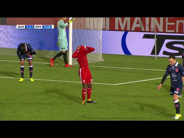 Samenvatting: Almere City FC - MVV Maastricht (3-2)