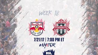 New York Red Bulls USL vs Toronto FC USL full match