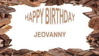 Jeovanny   Birthday Postcards & Postales