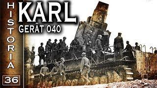 Ciężki niemiecki moździerz Karl Gerät 040 - Historia