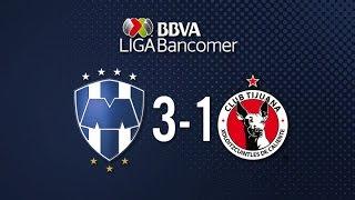Monterrey vs Tijuana 3-1 Jornada 14 Apertura 2015 Liga Bancomer MX - 24 de Octubre 2015