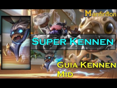 Kennen Mid kennen mid une boule dunergie kennen and teemo snuggles by