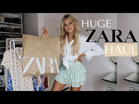 ZARA HAUL & TRY ON (SUMMER SALE) | Louise Cooney