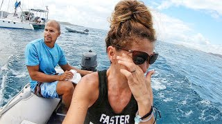 Goodbyes SUCK! | 110 | Beau and Brandy Sailing