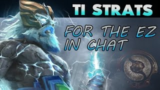 The TI Winning Strats Come Into Play