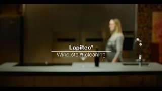 Come pulire un piano in Lapitec® | vino