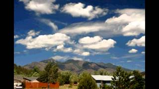 Monsoon Weather over Flagstaff, Arizona, July 19-24, 2012 Time lapse x150