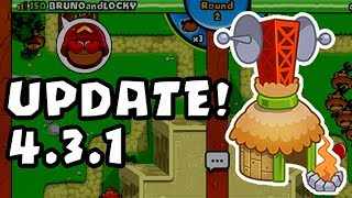 BTD Battles - UPDATE 4.3.1 - Village BUFFED!