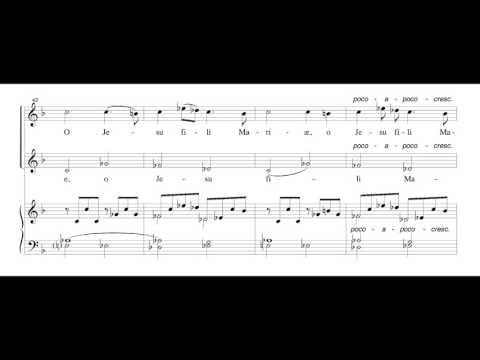 Fauré - Ave verum, Op. 65, No. 1 (score)