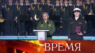 ВМоскве состоялась церемония награждения лауреатов фестиваля конкурса «Армия России»