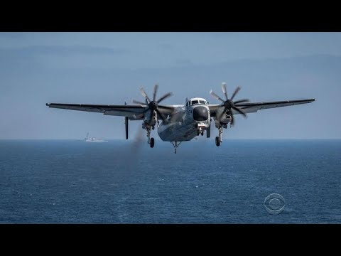 3 still missing after U.S. Navy plane goes down in the Pacific