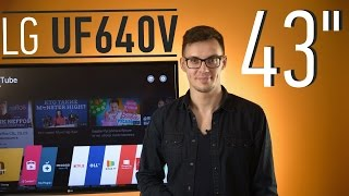 LG 43UF640V: 4K по цене монитора
