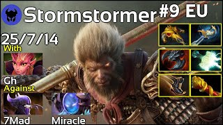 Stormstormer [HG] plays Monkey King!!! Dota 2 7.21