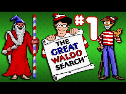 The Great Waldo Search (SNES) - Part 1: The Search Begins - Octotiggy
